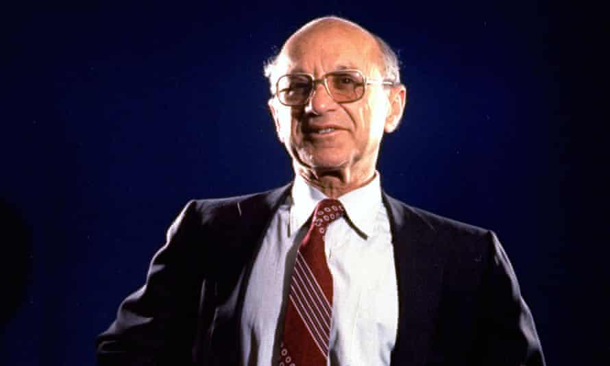 Dr. Milton Friedman who won the 1976 Nobel Prize for economics.