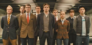 The new recruits in Kingsman