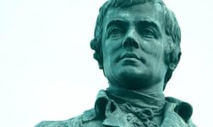 Robert Burns statue in Leith.