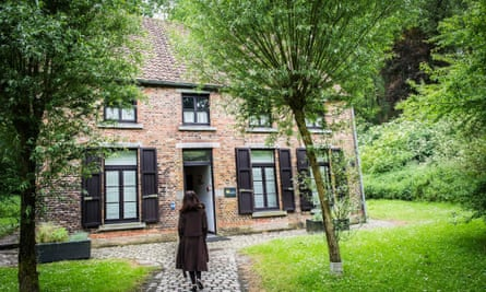The restored house where Van Gogh lived at Cuesmes, a small town near Mons.