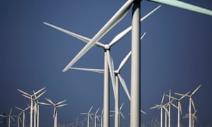 Wind turbines for generating electricity are seen at a wind farm in Guazhou, 950km (590 miles) northwest of Lanzhou, Gansu Province September 15, 2013.