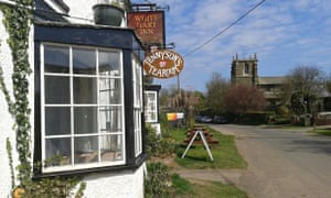 Enjoy a pint in Alfred Lord Tennyson's local pub, The White Hart in Tetford.