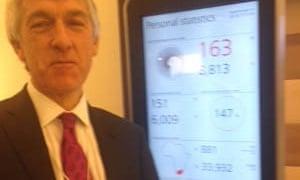 Larry Elliott at Davos.