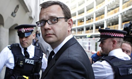 Andy Coulson was jailed last July for overseeing a culture of phone hacking at the News of the World