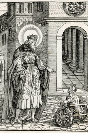 Edward the Confessor and a leper