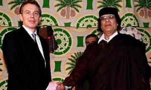 Blair visit to Africa