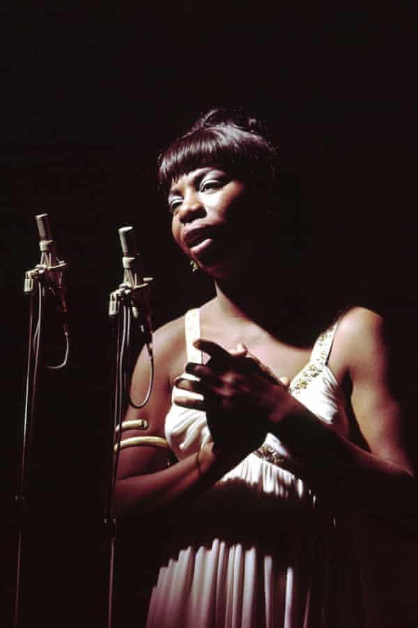 Nina Simone, pictured circa 1960, is the subject of a Netflix documentary and a controversial biopic.