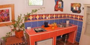 Orange villa palmizana