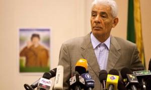 Libya's foreign minister Moussa Koussa was head of Libyan intelligence.
