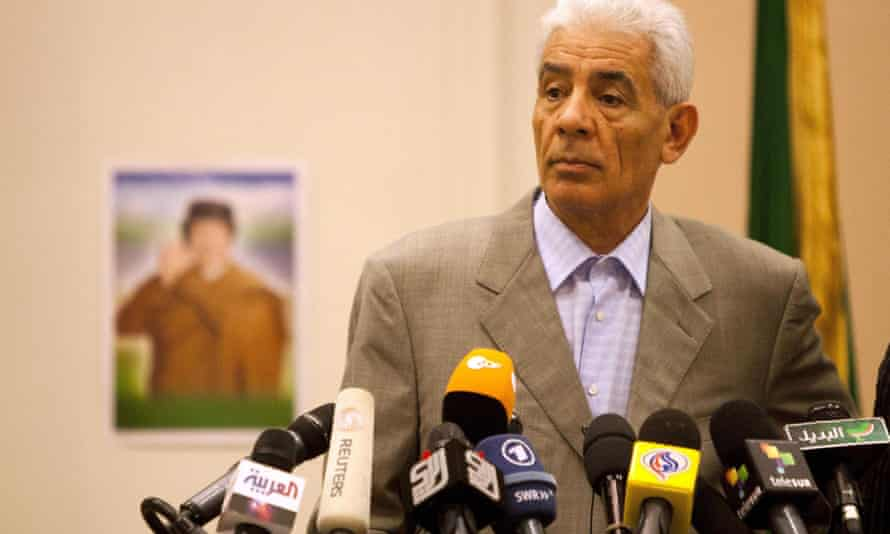 Libya's foreign minister Moussa Koussa was head of Libyan intelligence.