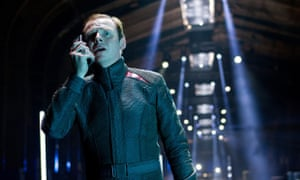 Not phoning it in … Simon Pegg in Star Trek: Into Darkness