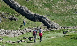 Hadrian's Wall is recognised as a world heritage site.