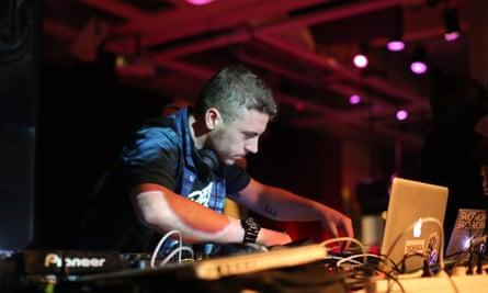 DJ Branko from Buraka Som Sistema
