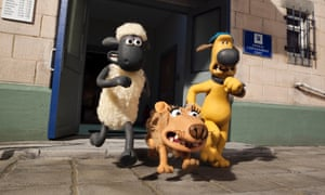A scene from Shaun the Sheep the Movie