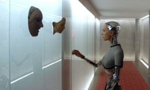 ex machina film still 2015 artificial intelligence self aware computers