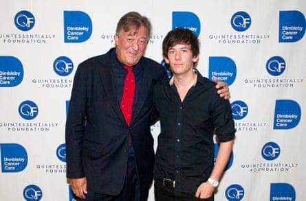 Stephen Fry and Elliott Spencer.