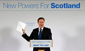David Cameron Scotland speech January 22