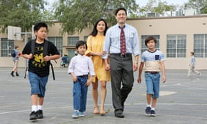 A scene from Fresh Off The Boat.