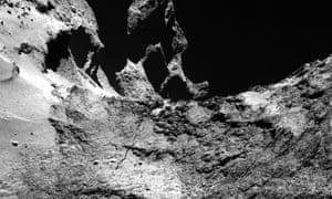 crack in the comet