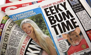 The edition of the Sun that 'reintroduced' Page 3 topless pictures last week.