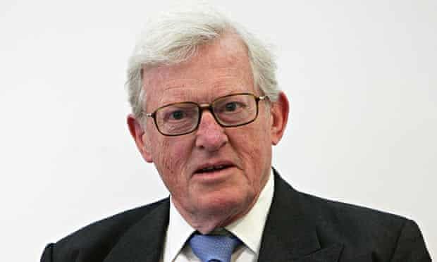 Former defence secretary Tom King