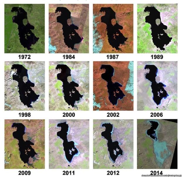 Disappearing Lake Urmia