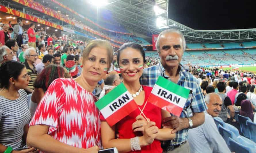 Iran fans