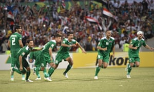 Iraq player