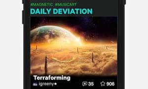 DeviantArt Mobile App screenshot