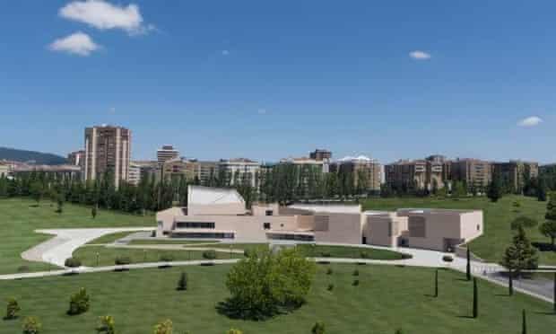 Bully for Pamplona … the new Museo Universidad Navarra