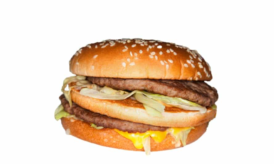 The Economist uses the price of a Big Mac to work out the relative values of currencies.