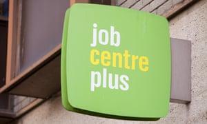 The Job Centre in Truro, Cornwall.
