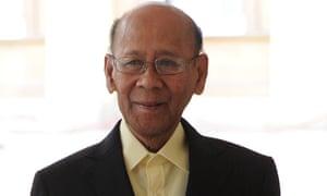 The King of Malaysia Abdul Halim of Kedah.
