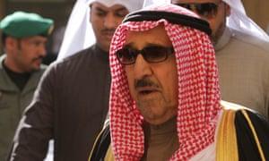 Kuwait Emir Sheikh Sabah al-Ahmad Al-Sabah