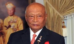 Sultan Haji Ahmad Shah.