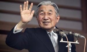 Japan's Emperor Akihito.