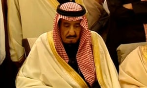 Saudi Arabia's King Salman, successor to his brother King Abdullah.