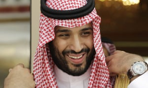 Prince Mohammed is King Salman's son.