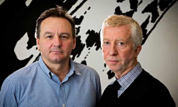 Jon Thoday and Jimmy Mulville