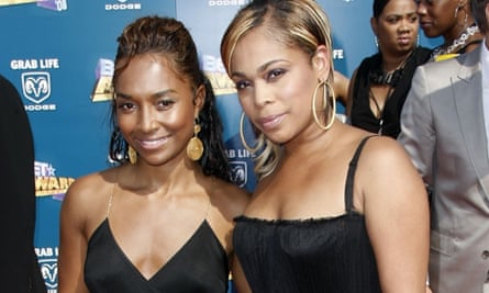 Chilli and T-Boz of girl group TLC