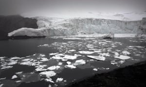 melting glaciuer pastoruri guaraz peru