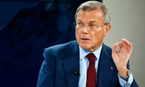 Sir Martin Sorrell, chief executive of WPP?' in Davos