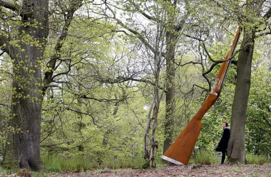 Landscape with Gun and Tree