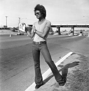 New Jersey Turnpike hitcher, 1971