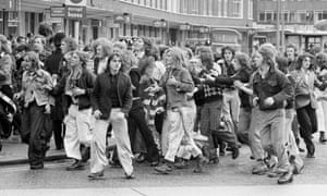 Manchester United fans 1974