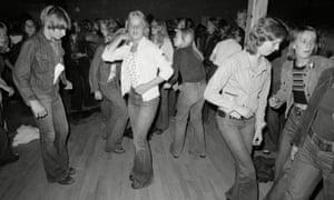 Teenagers dancing in Finland, 1975