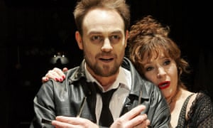 Jason Donovan and Harriet Thorpe in Sweeney Todd in 2006.