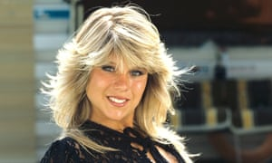Page 3 model Samantha Fox gained celebrity in the 1980s.