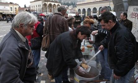 Athens soup kitchen
