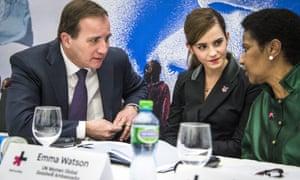 Emma Watson at Davos